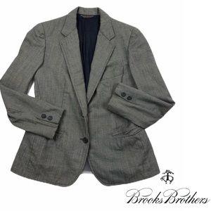 Brooks Brothers Blazer Jacket Gray Suit Grey